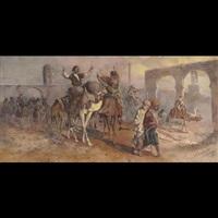 arabian market by joseph austin benwell