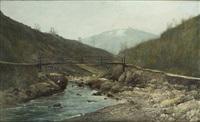 paysage de montagne by marko andreas