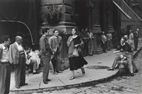 american girl in florence, italy by ruth orkin
