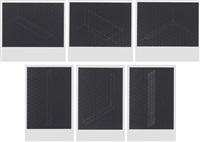 22 photostaten: six plates (6 works) by fred sandback
