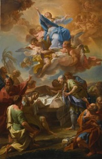 assumption of the virgin by corrado giaquinto