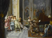 the appreciative audience by vittorio reggianini