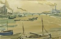landscpe with bridge by max arnold