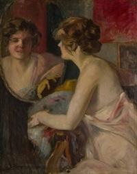 mujer ante el espejo by gonzalo bilbao martínez