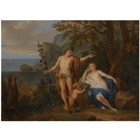 bacchus and ariadne by victor honoré janssens