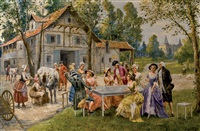 fiesta campestre by carlos alonso perez