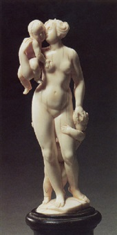 allegory of charity by leonhard kern