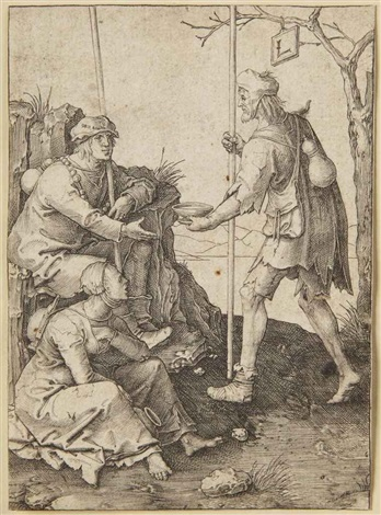 the beggars by lucas van leyden