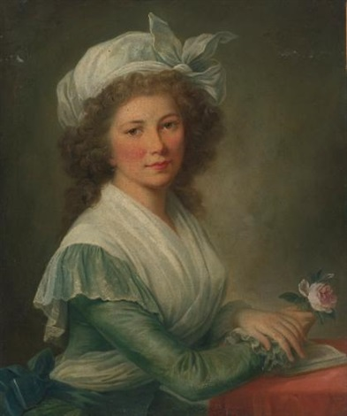 portrait of a young lady by marie victoire lemoine