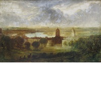 view of london from greenwich park by joseph mallord william turner