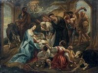 l'adoration des bergers by jacob jordaens