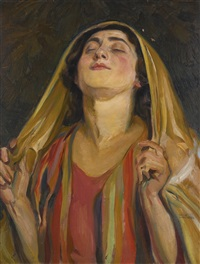 hannah at prayer by wilhelm wachtel