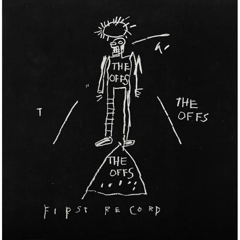 album cover album inside by jean michel basquiat