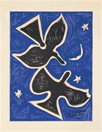 blue birds (les peintres témoins de leur temps) by georges braque