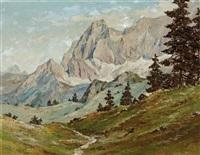 torstein, blick von der austriahütte by maximilian strasky