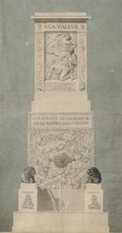 fontaine monumentale a la memoire du general desaix by jean baptiste auguste labadye