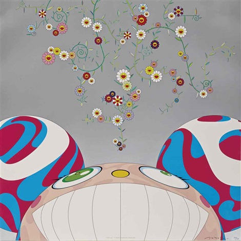 dob flower by takashi murakami