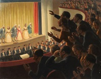 at the theater by fermin rocker