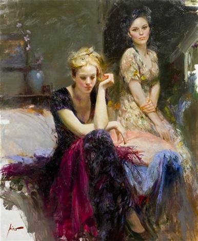 two women by giuseppe dangelico pino