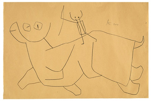 hop hop by paul klee