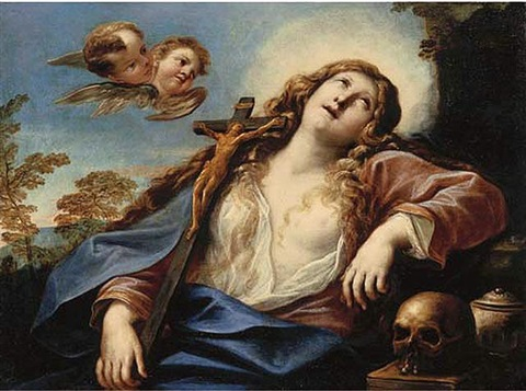 the penitent magdalen by girolamo troppa