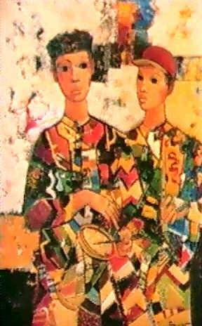 deux musiciens by samuel azuelos