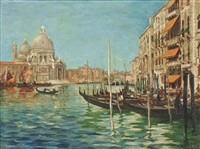 the grand canal, venice by arthur spooner