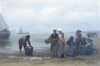 sorting the catch by philip lodewijk jacob frederik sadée