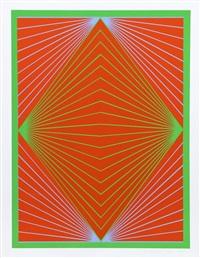 diamond chroma from new york ten portfolio by richard anuszkiewicz