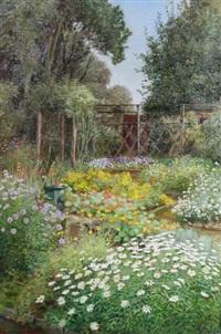garden pwll-y- pant, august by julian s. corbett