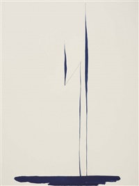 blue lines, pl. 1 (+ 9 others; 10 works) by georgia o'keeffe