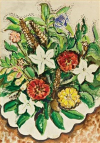 bouquet of flowers by rody kenny courtice