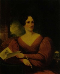 portrait of mary rutherfold clarkson by samuel f.b. morse