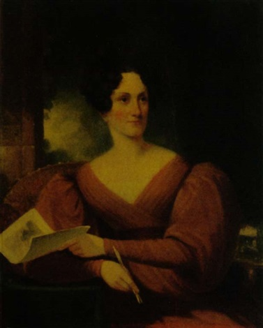 portrait of mary rutherfold clarkson by samuel fb morse