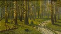 wnętrze lasu by jozef guranowski