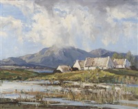 near recess, connemara, co. galway by rowland hill