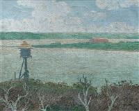 desembocadura del río santa lucía by carlos maría de santiago