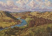 whakapapa river no. 2 by claude muncaster