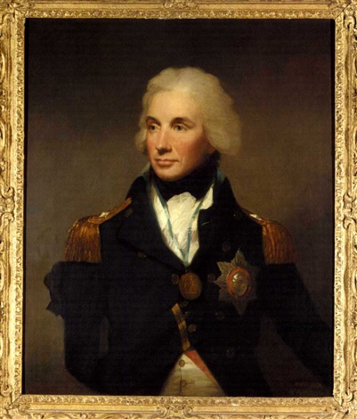 portrait of admiral horatio first viscout nelson by lemuel francis abbott