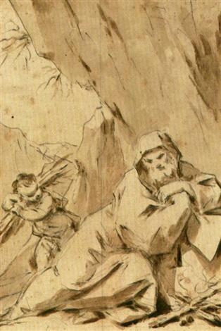 allegoria dellinverno by antonio consetti