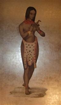 femme indigène by la roche laffitte