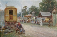 the country fair by james townshend
