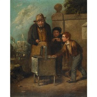the pet; roasted chestnuts (pair) by william hemsley