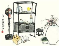 scholar's utensiles by suh seok