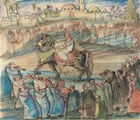 la cavalière by ragheb ayad