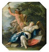 mercure et l'allégorie de la victoire by fedele fischetti