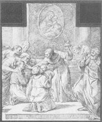 saint healing a blind a man by carlo giuseppe ratti