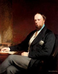 portrait of john wodehouse, 1st earl of kimberley by stephen catterson smith