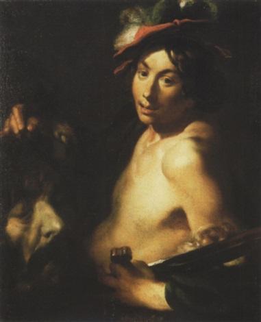 david tenant la tête de goliath by johann liss