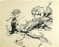 lord of the rings by frank frazetta